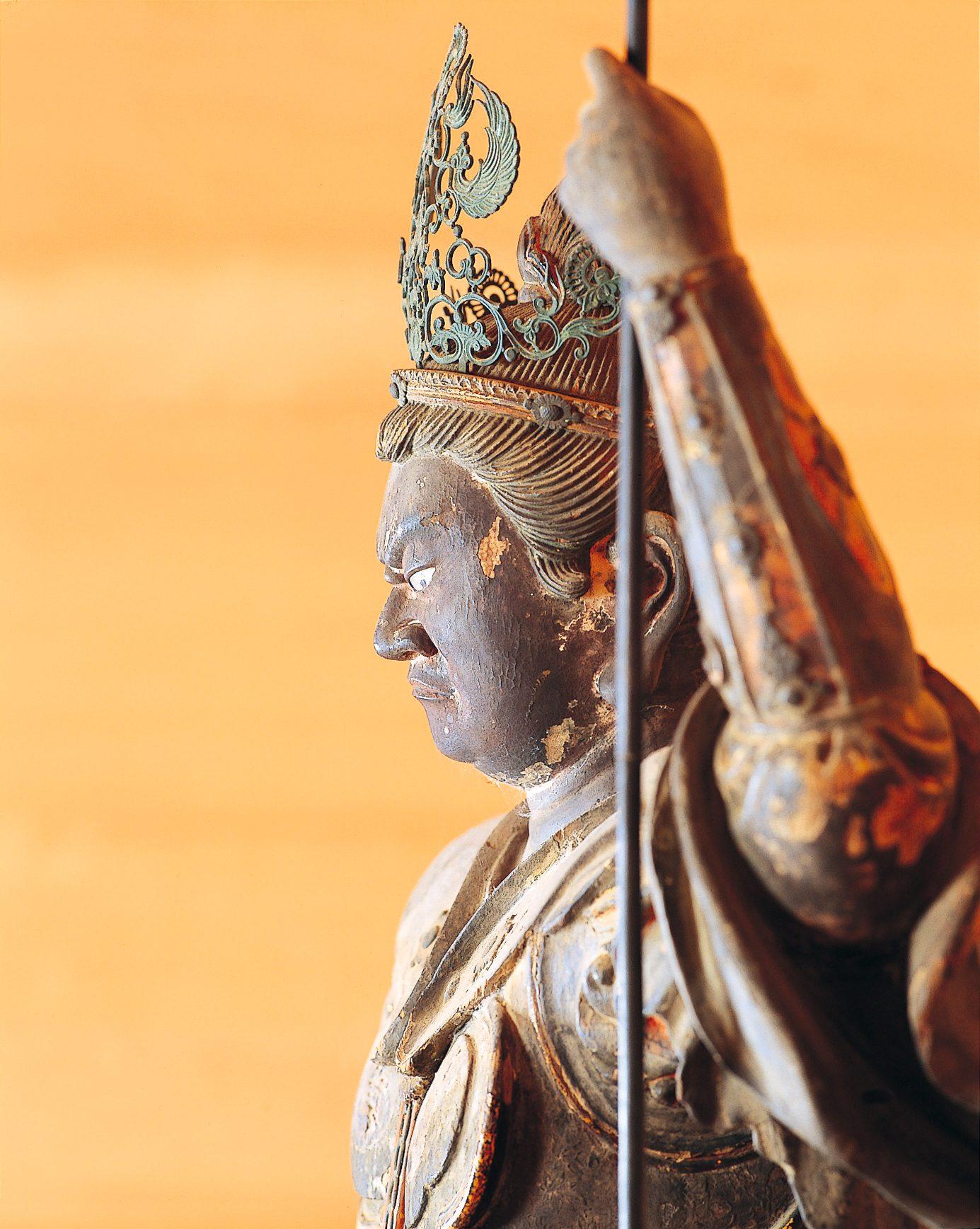 清雲寺(毘沙門天立像)