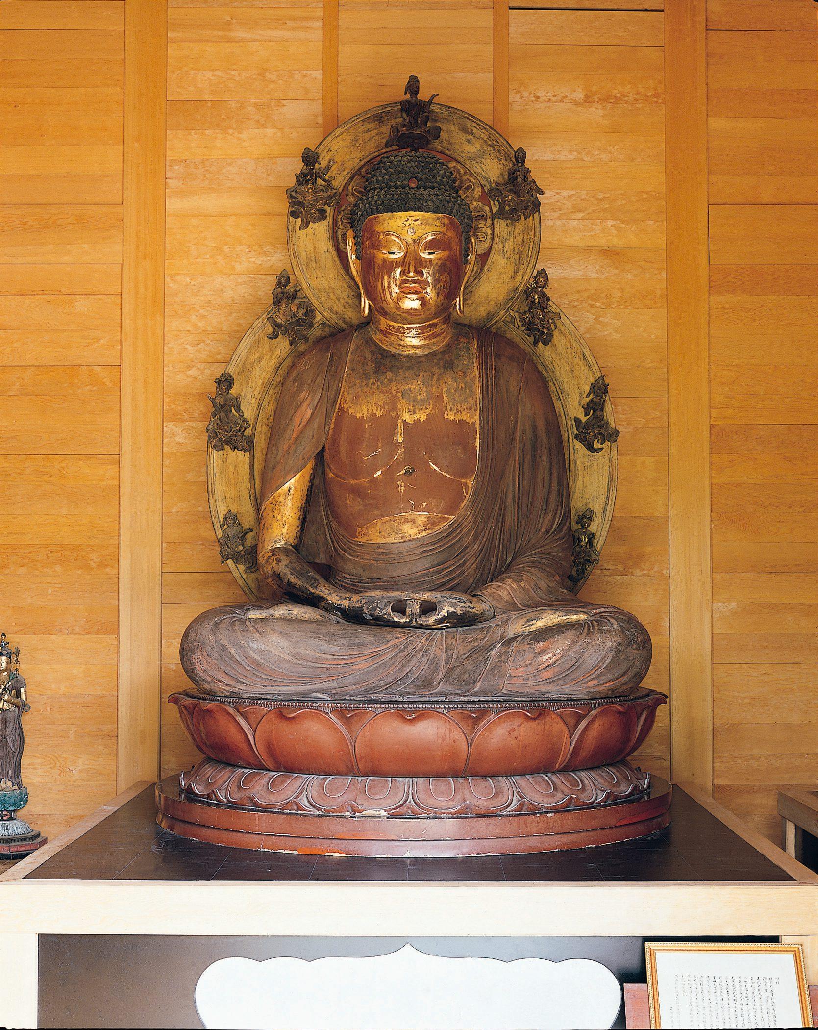 長楽寺(阿弥陀如来坐像)