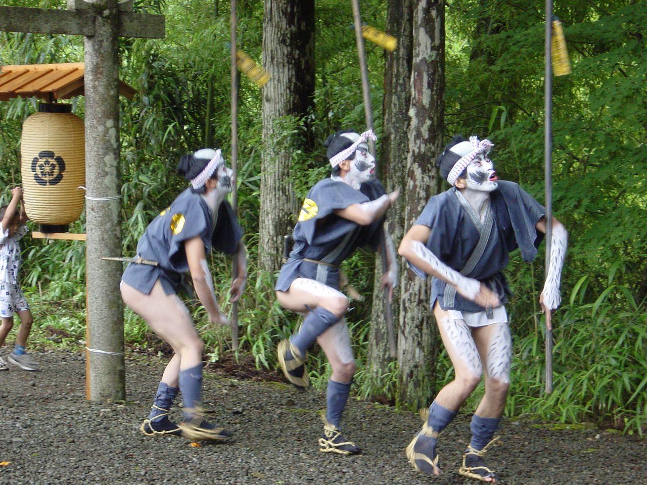 京都府無形文化財 祇園社の神楽